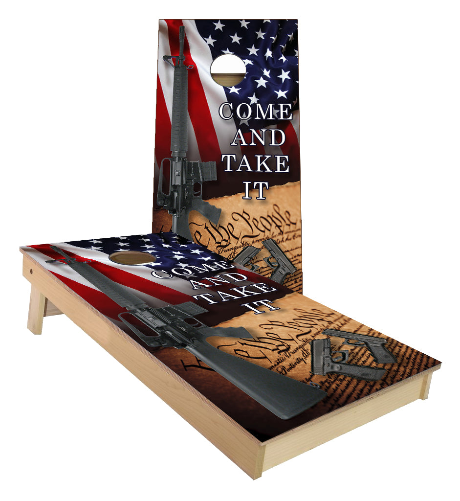 United States 2nd Amendment Cornhole Boards