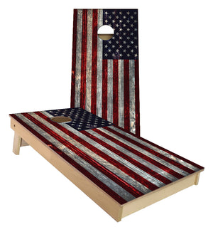 United States Flag Cornhole Boards