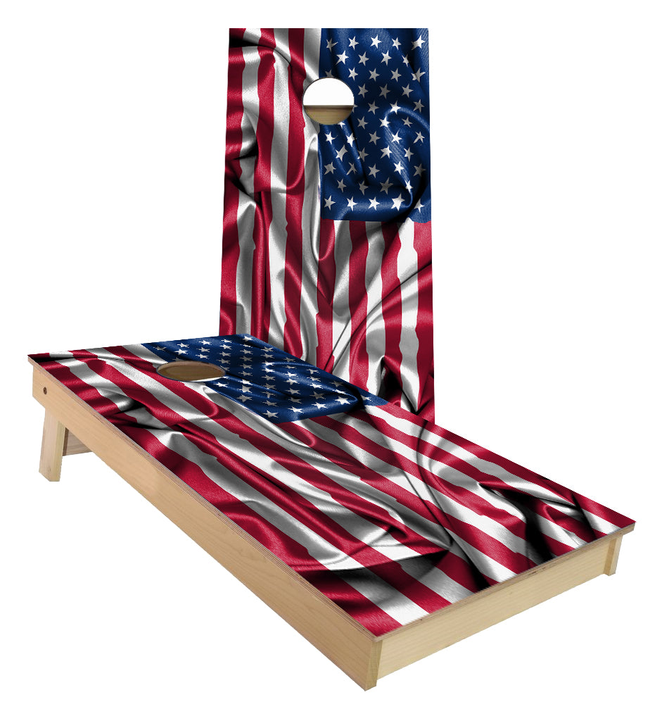 USA Flag of the United States of America Cornhole Boards