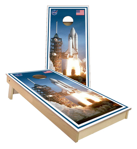 United States NASA Space Shuttle Cornhole Boards