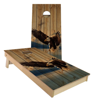 American Bald Eagle Cornhole Boards