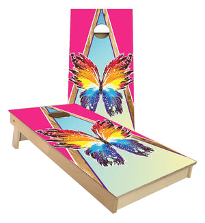 Butterfly Cornhole Boards