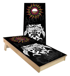 Alice in Chains Cornhole Boards