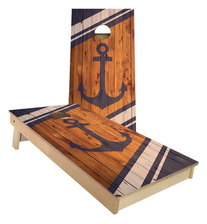 Anchor away cornhole boards