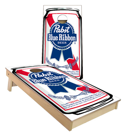 PBR Pabst Blue Ribbon Beer Can Cornhole Boards