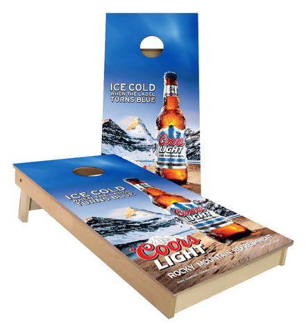 Coors Light Beer Cornhole Boards