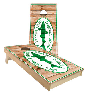 Dogfish Beer Cornhole Boards