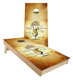 Pina Colada Mix Cornhole Boards