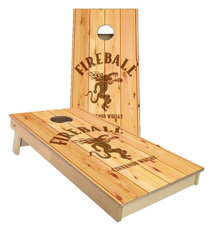 Fireball Whiskey Cornhole Boards