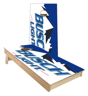 Busch Light Beer Mountains Cornhole Boards