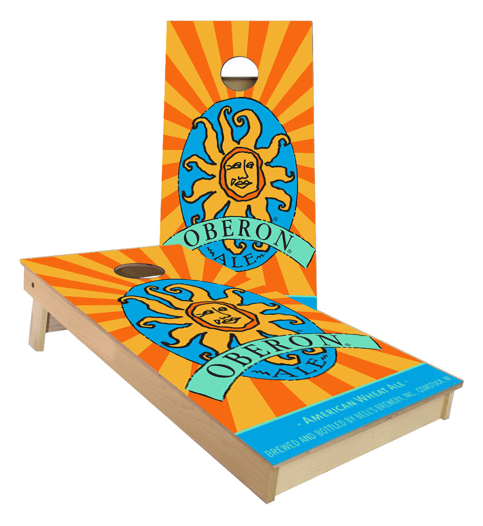 Bells Oberon custom Cornhole Boards