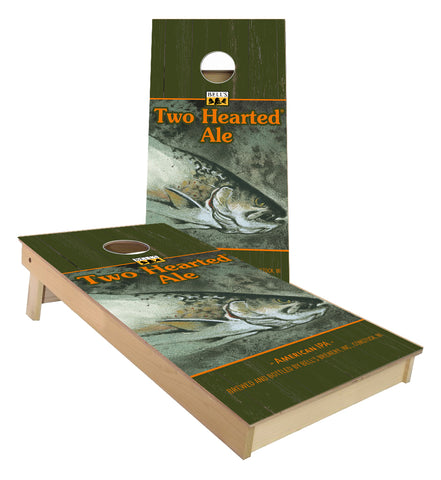 Bells Two Hearted Ale cornhole boards