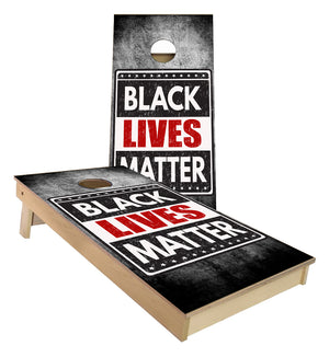 Black Lives Matter Cornhole Boards
