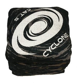 Cyclone  CAT 5 Pro Series Cornhole Bags Black  (set of 4)