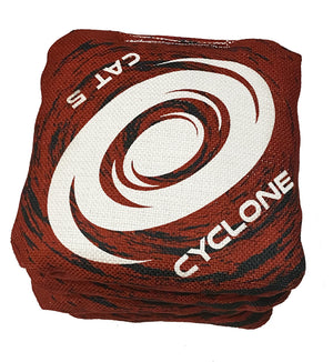 Cyclone  CAT 5 Pro Series Cornhole Bags Red  (set of 4)