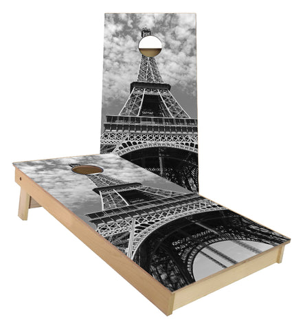 Eiffel Tower Paris Cornhole Boards