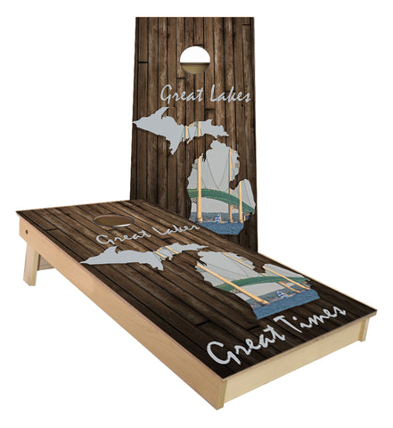 Great Lakes Great Times Cornhole Boards