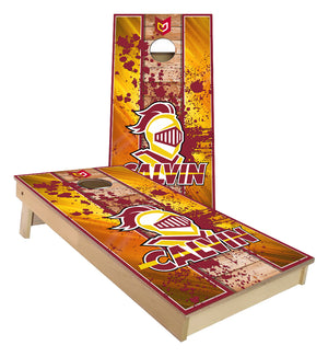 Calvin College Grand Rapids Michigan custom Cornhole Boards