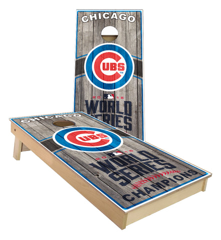 Chicago Cubs World Champions custom cornhole boards