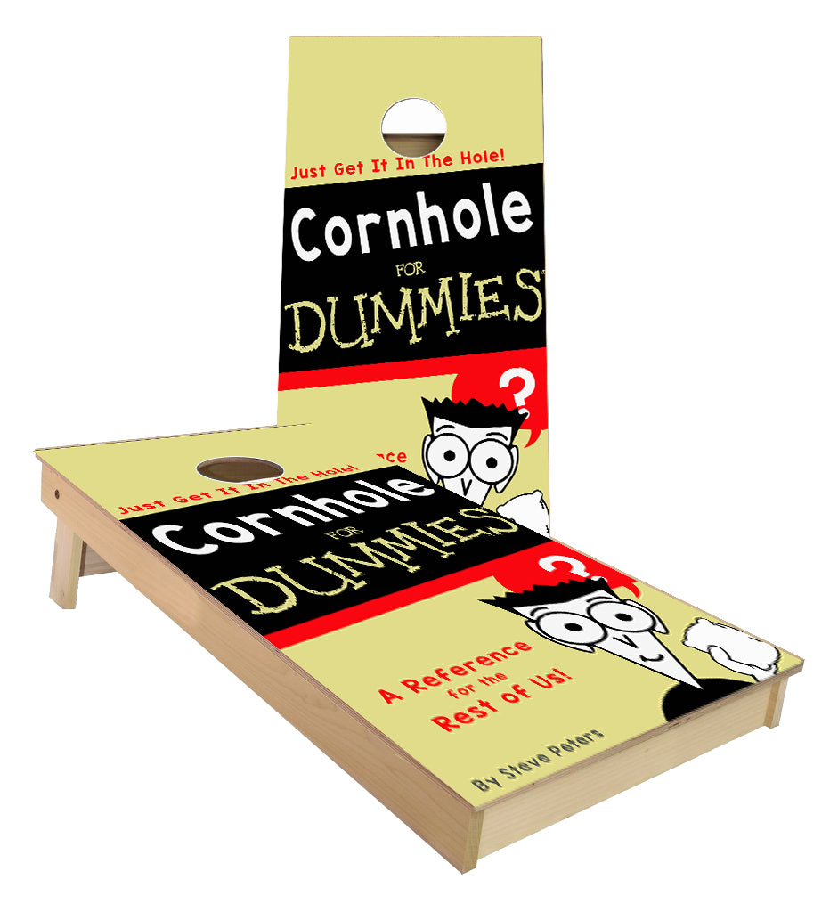 Cornhole for Dummies Cornhole Boards