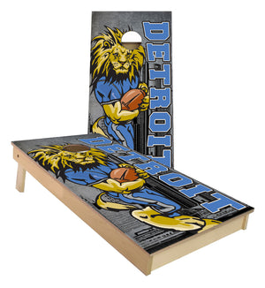 Detroit Football Lions cornhole boards