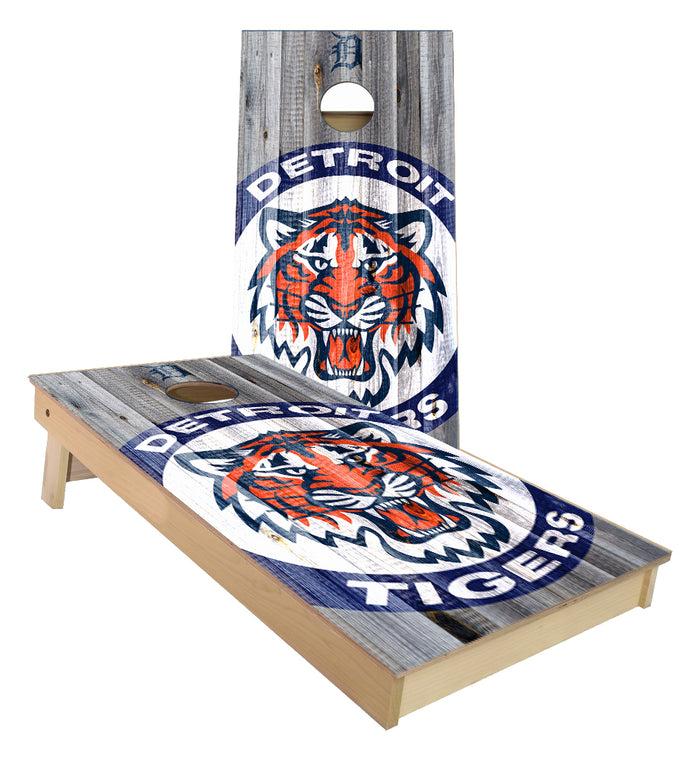 Detroit Baseball Fat Head Cornhole Boards