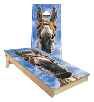 DoNkEy FaCe Cornhole Boards