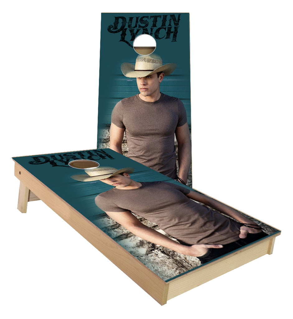 Dustin Lynch Country Music Cornhole Boards
