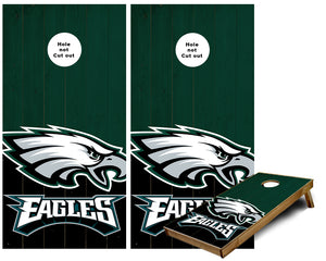 Philadelphia Eagles  Cornhole Wraps
