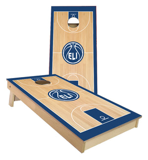 ELI Basketball Court custom Cornhole Boards