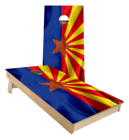 Arizona State Flag Cornhole Boards