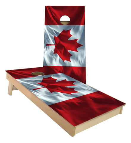 Canadian Flag Cornhole Boards