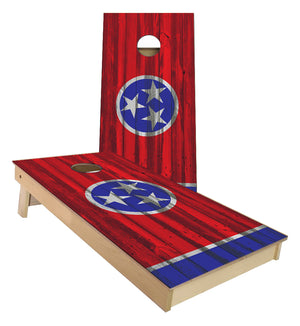 Tennessee State Flag Cornhole Boards