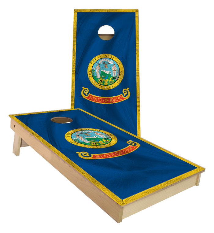 Idaho State Flag Cornhole Boards