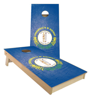 Kentucky State Flag Cornhole Boards