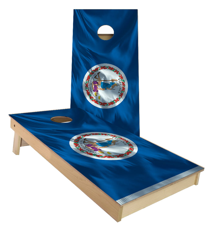 Virginia State Flag Cornhole Boards