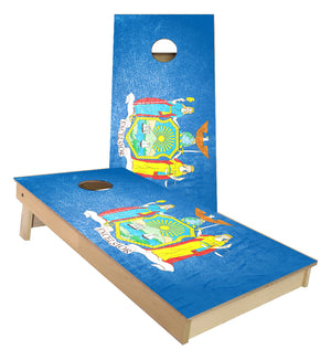 New York State Flag Cornhole Boards