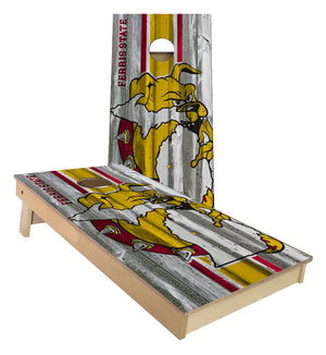 Ferris State University Bulldogs Cornhole Boards