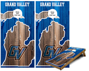 Grand Valley University Cornhole Wraps