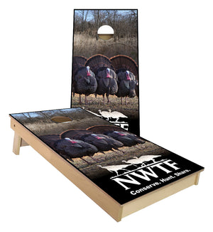 NWTF Turkey Federation Cornhole Boards