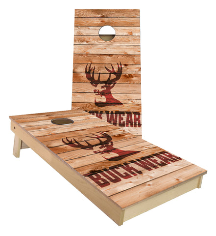Buck Wear Cornhole Boards