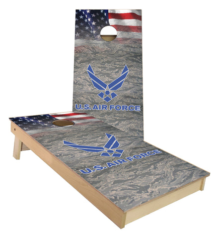 US Airforce Cornhole Boards