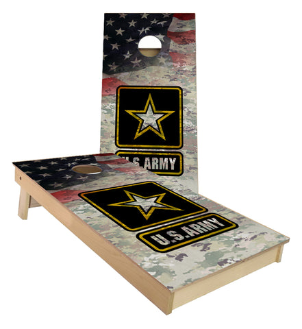 US Army Camo Cornhole Boards