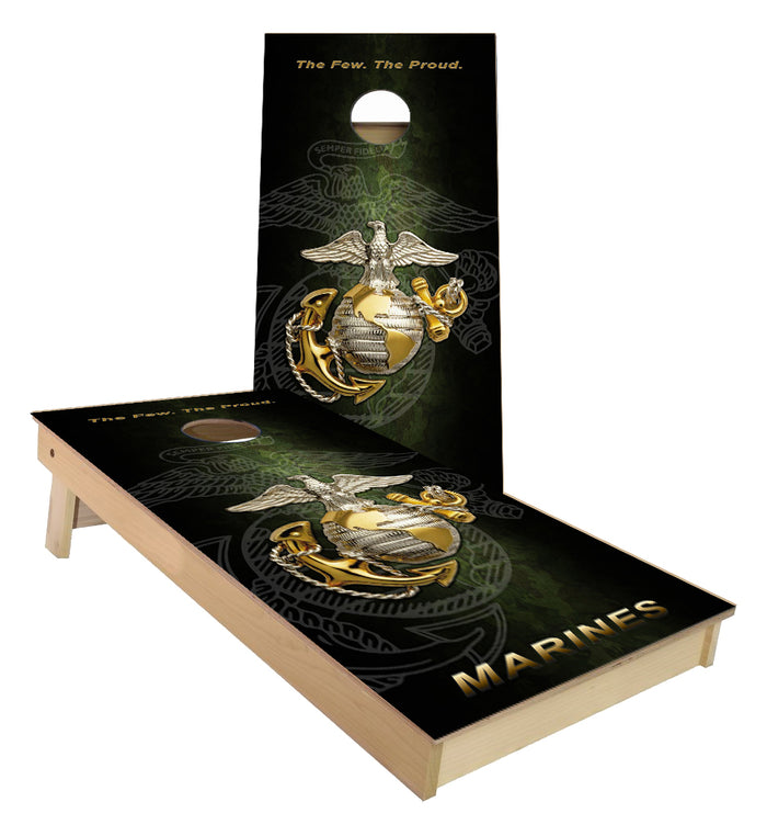 United States Marines Cornhole Boards