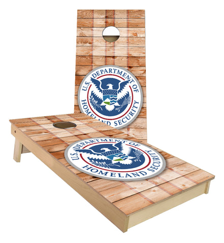 Department of Homeland Security cornhole boards