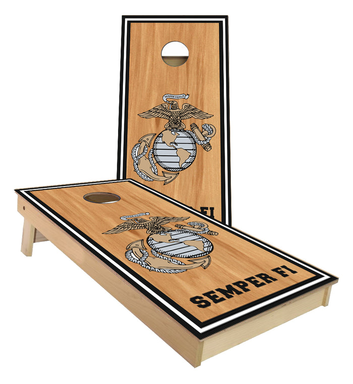Marines Semper Fi Cornhole Boards