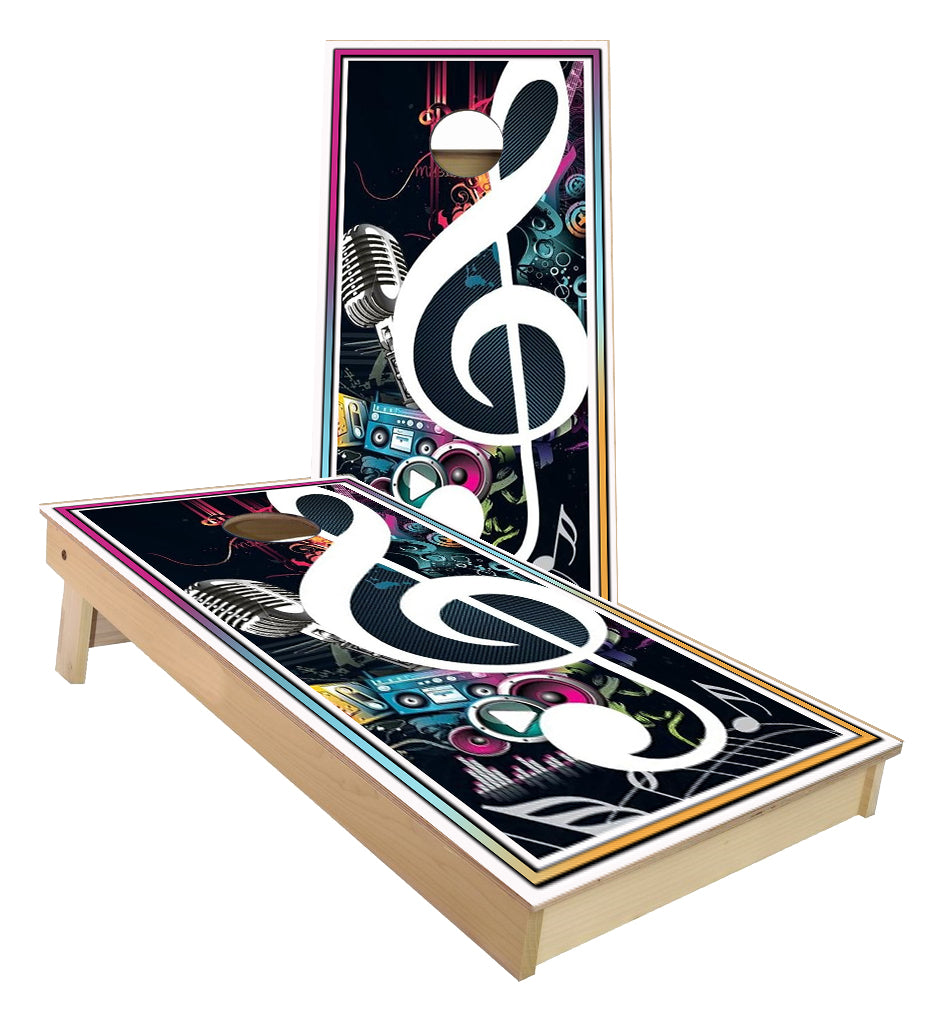 Music Celebration Cornhole Boards