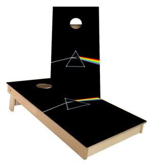 Pink Floyd Dark Side of the Moon Cornhole Boards