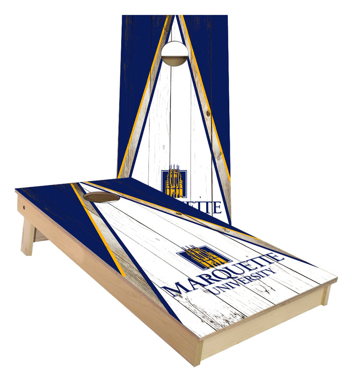 Marquette University Triangle Cornhole Boards