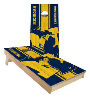 Michigan University Wolverines Cornhole Boards